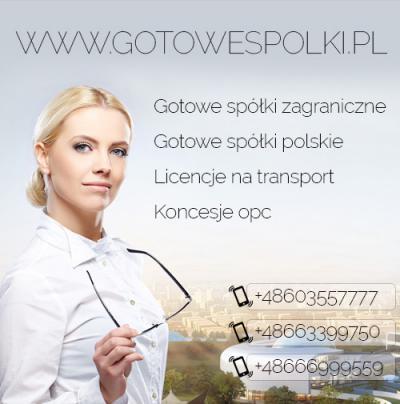 Gotowe Spółki z VAT EU Łotewska, Słowackie, Czeski