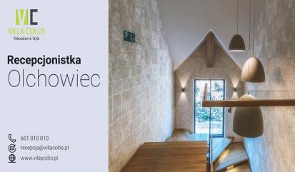 Recepcjonistka - Olchowiec, woj. podkarpackie