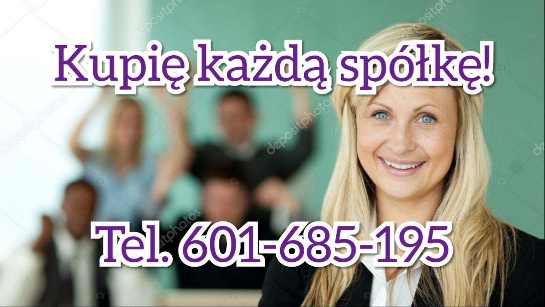 Zakupię spółkę z wierzytelnościami. Tel. 601-685-1